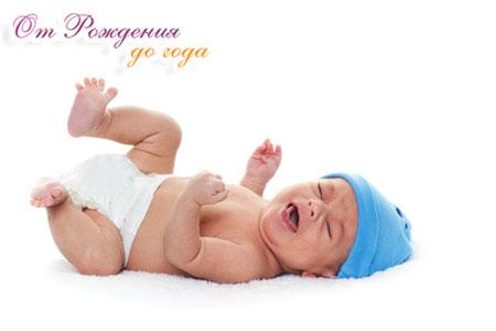 Газики и колики у новорожденного ребенка