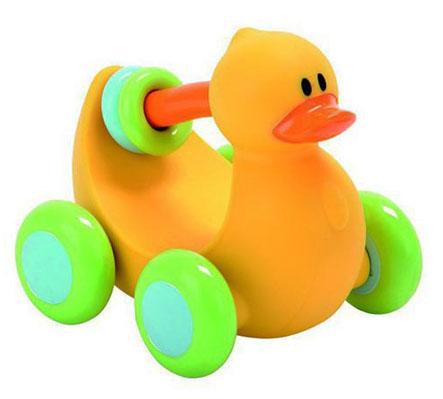 Игрушка - утенок на колесиках