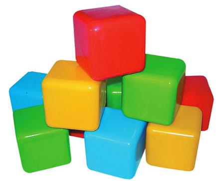 Разноцветные кубики - игрушка на все времена