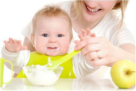 Ребенку, однозначно, понравился первый прикорм