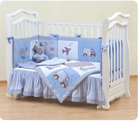 Детская кроватка для мальчика - отличный подарок