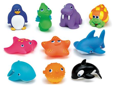 """Резиновые игрушки для купания """"Звери"""""""