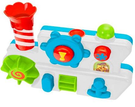 """Каскадная игрушка """"Теплоход"""" для игр в ванной"""