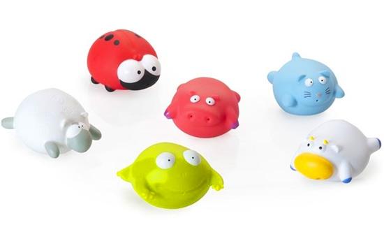 Шарообразные игрушки для малышей
