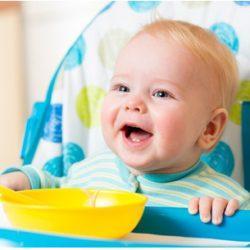 Питание 8 месячного ребёнка: тройка новых продуктовых групп