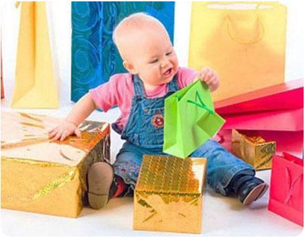 Подарки для малыша на первый годик