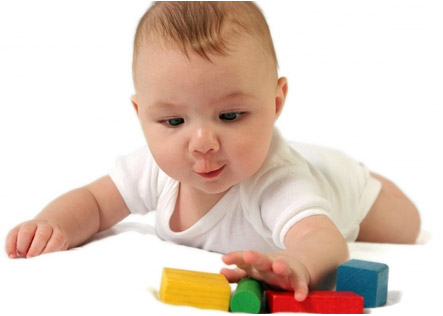 Двигательное развитие ребенка пяти месяцев