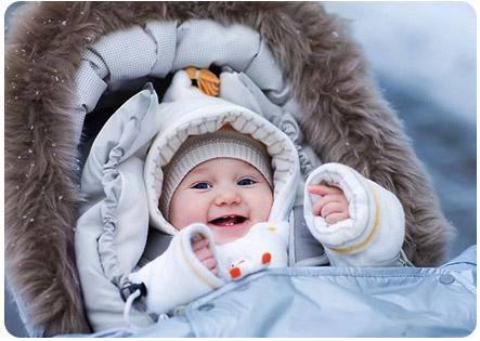 Зимние прогулки с маленьким ребенком