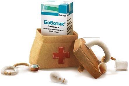 Капли боботик средство при коликах у новорожденных малышей