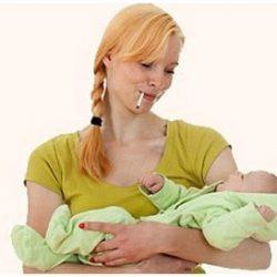 На сколько опасно для ребенка курение при грудном вскармливании?
