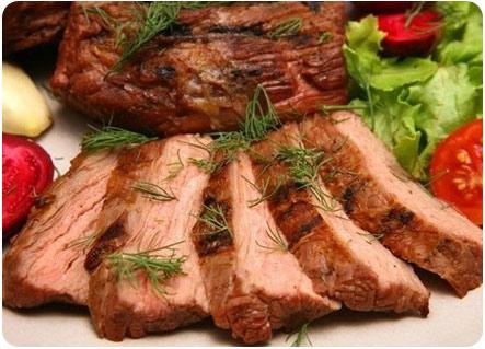 Мясо вареное