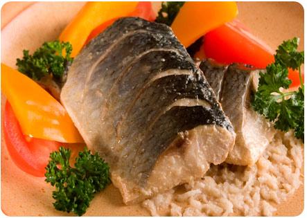 Рыба вареная