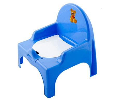 Горшок-стульчик синего цвета