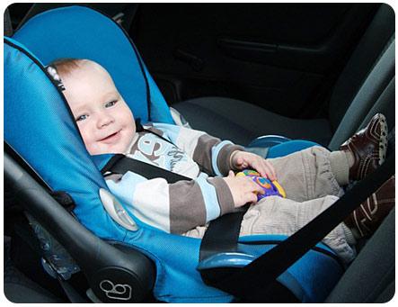 Правильная перевозка детей в автомобиле