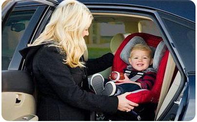 Правильно перевозим ребенка в автомобиле