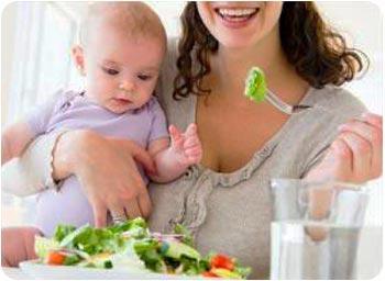 Кушать овощи при кормлении грудью