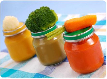 Овощное пюре для прикорма малыша