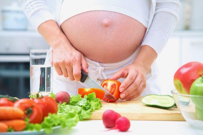 Ешьте овощи во время беременности