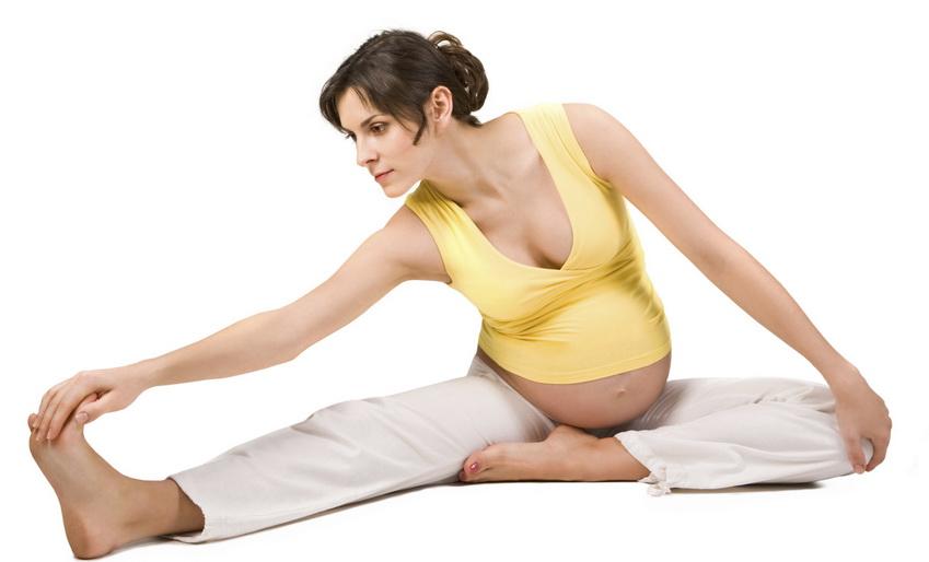 Йога полезна для беременных