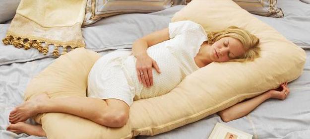 На 35 неделе пригодится специальная подушка для беременных