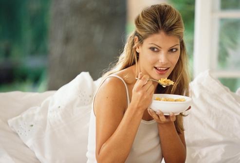 На второй неделе беременности рекомендуется есть каши