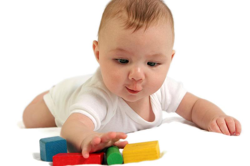 Навыки малыша в 5 месяцев
