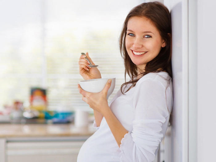 Суп с овощами полезен во время беременности