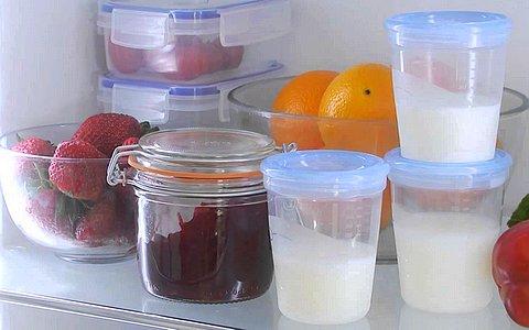 Температура хранения сцеженного грудного молока в бутылочке