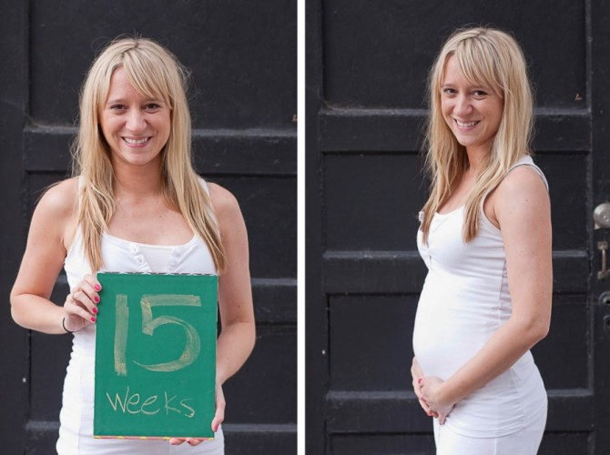 Животик на 15 неделе беременности