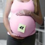 42 неделя беременности - живот