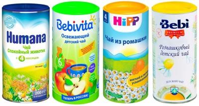 Чай для детей гранулированный в баночках