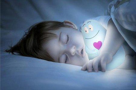 Для хорошего сна оставляйте светильник