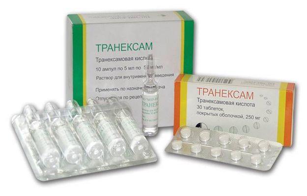 Форма выпуска транексама