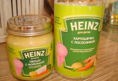 Heinz пюре
