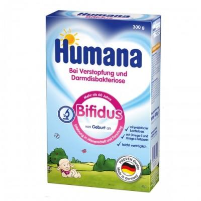 Humana Молочная смесь Bifidus с пребиотиком и лактулозой