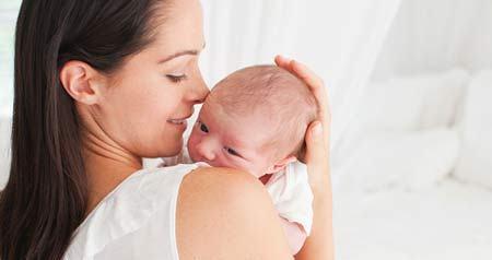 Икота появляется у новорожденных из-за сокращения диафрагмы