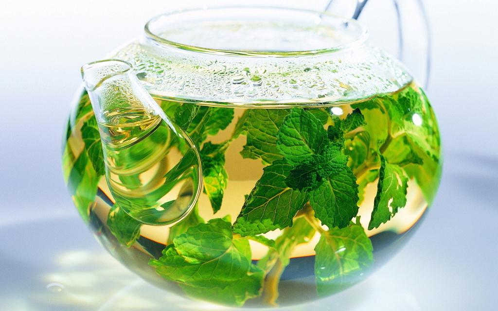 Мятный чай помощник при токсикозе