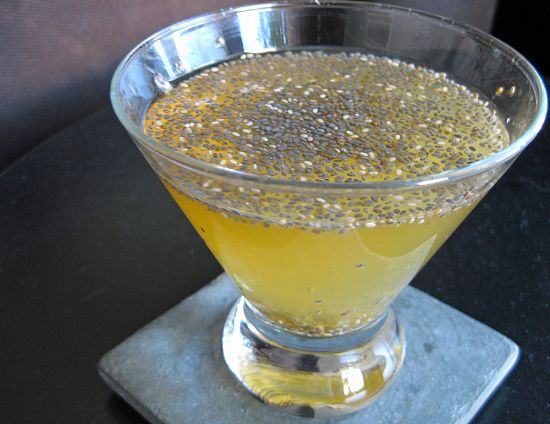 Напиток из семян салата