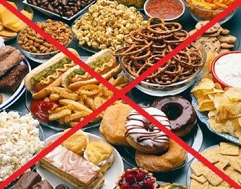 Не употребляйте мучное и сладкое