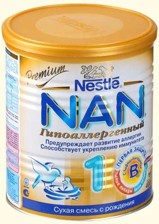 Nestle NAN Гипоаллергенный 1 400 гр.