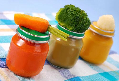 Овощи наряду с кашами являются идеальным вариантом для начала прикорма