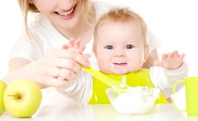 Первый прикорм ребенка