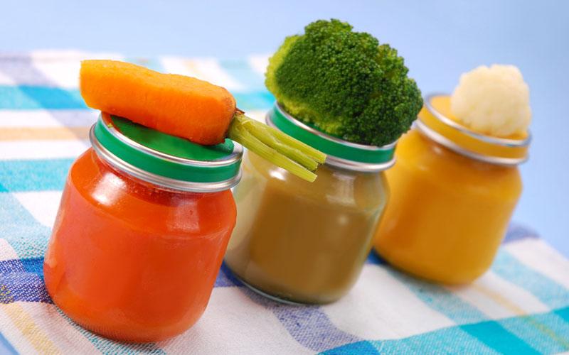 Рекомендованные овощи для малыша