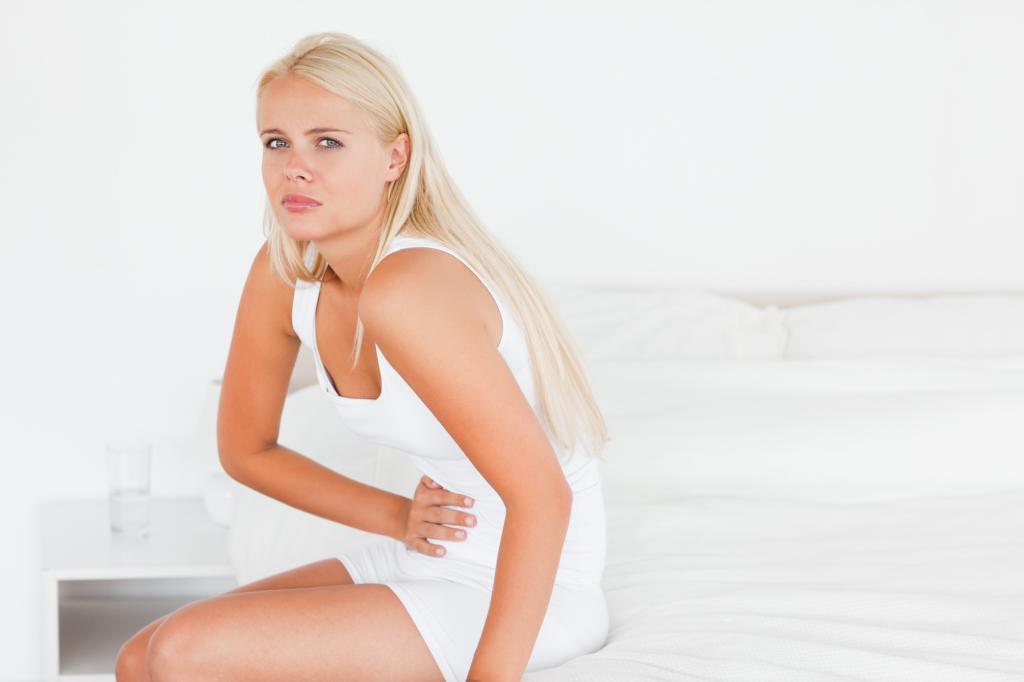 Сильная боль в животе - угроза к выкидышу
