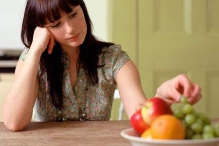 Слабая форма токсикоза характеризуется потерей аппетита
