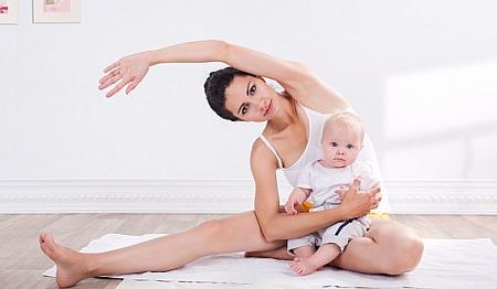 Сразу после родов можно выполнять простые упражнения