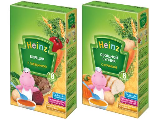 Супчики Heinz