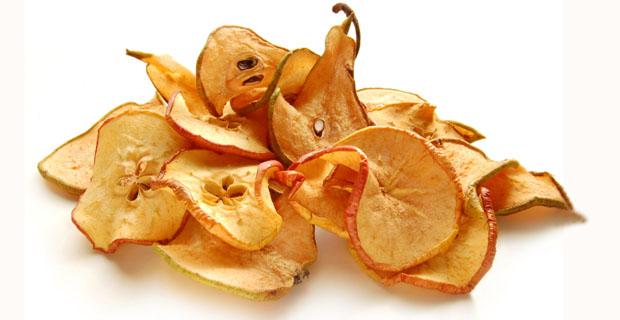 Сушеные яблоки и груши для компота