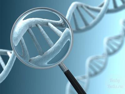 Генетические отклонения являются причиной выкидыша в ¾ случаев