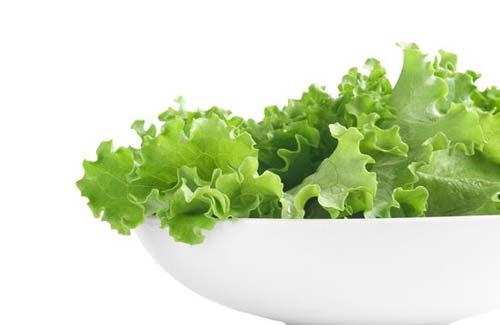 Блюда с листьями салата при грудном вскармливании